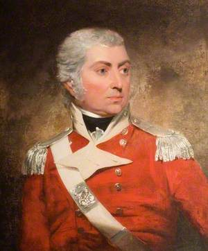 Portrait of a Man in Military Dress