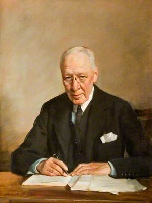 Sir Joseph Priestly, KC, Chairman of the County Council (1930–1939)