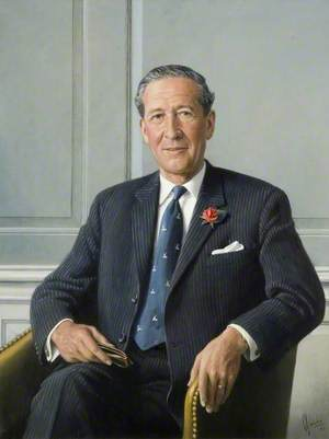 Claude C. Barker, CBE, LLB, Chairman of the County Council (1965–1969)