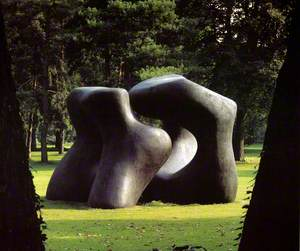 Large Two Forms