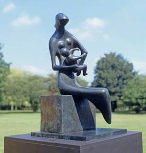 Mother and Child: Curved