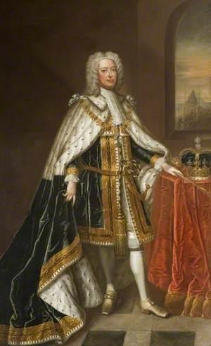 George II (1683–1760), Standing in Garter Robes