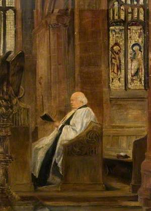 Reverend Thomas Lingley in All Saints' Church