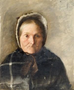 Old Lady in a Bonnet