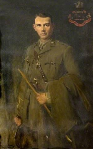 Second Lieutenant Frederick John (Eric) Freeman, (d.1916)