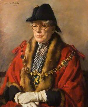 Miss Margaret Wix (1879–1953) JP, Mayor of St Albans