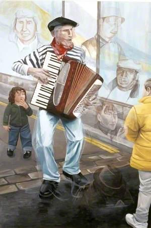 Mr Delaney, Street Entertainer