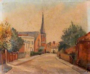 The High Street from the Railway Bridge