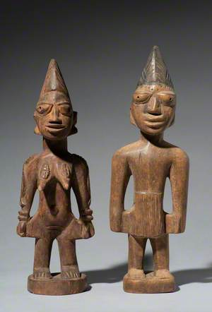 Pair of Male and Female Figures