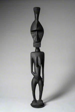 African Sculpture of a Woman