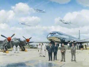 A Lost Heritage, de Havilland, Hatfield, c.1950