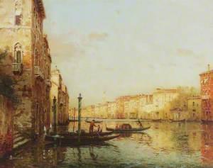 Venetian Canal Scene, Italy*