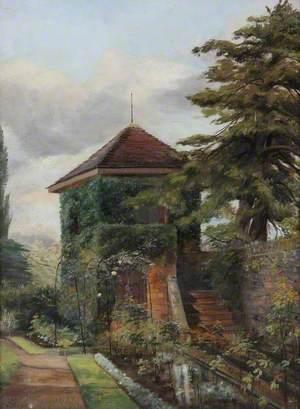 Summer House in Caldwall Hall Garden, Kidderminster, Worcestershire