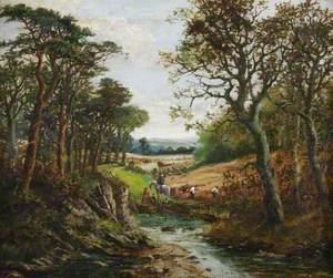Harvesting in Worcestershire