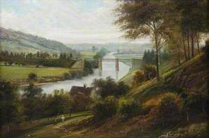 Dowles Bridge, Bewdley, Worcestershire, and the Severn