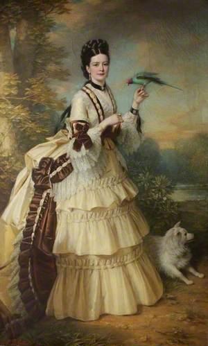 Eugenia Frederica Louisa Collis (1840–1891), First Wife of Brooke Robinson