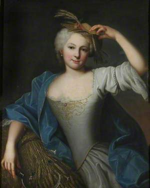 Portrait of a Young Lady as Ceres