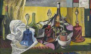 Still Life with Three Glass Bells