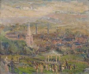 View of Halesowen from Highfield Lane
