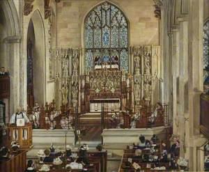 Sunday Morning, Wordsley Church, Stourbridge