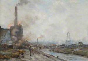 Black Country Industrial Scene