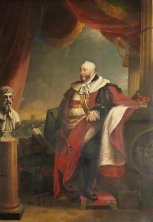The Duke of Norfolk (1746–1815), Looking over the Wye Bridge and Hereford Cathedral