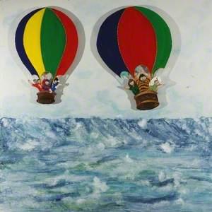 Children's Triptych (Balloons II)