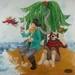 Children's Triptych (Pirates)