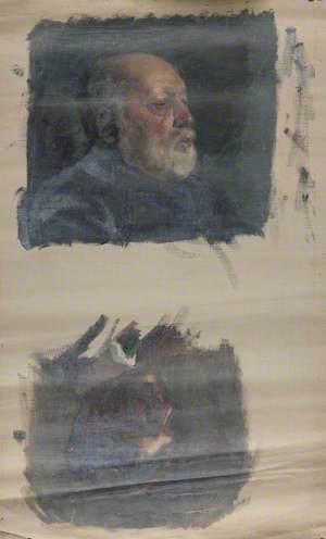 Portrait Sketches of Unidentified Gentlemen