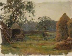 Farmyard with a Trap