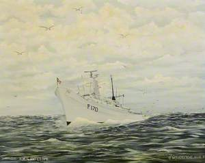 HMS 'Antelope'