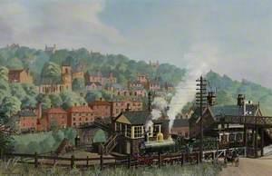 'Dean Locomotive', Severn Valley Railway Line, 1908