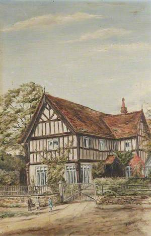 Unidentified Half-Timbered Building