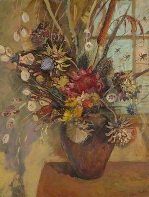 Still Life with Flowers and Grasses