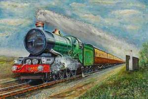 Steam Train, 'King Edward II'