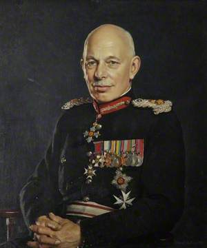 Major General Robert Bridgeman (1896–1982), 2nd Viscount Bridgeman, Lord Lieutenant of Shropshire (1951–1970)