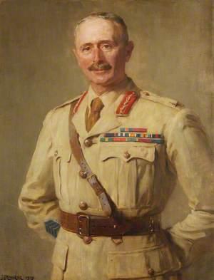 Brigadier General A. H. O. Lloyd, CO, Shropshire Yeomanry (1912–1916)