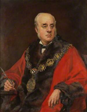 George G. Holt, Mayor of Shrewsbury (c.1890)