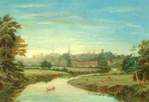 View of Shrewsbury, Shropshire