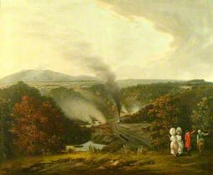 Afternoon View of Coalbrookdale, Shropshire