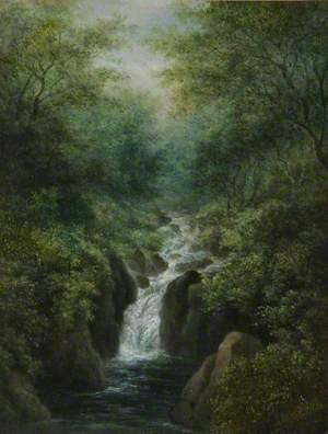 Waterfall, near Ludlow, Shropshire