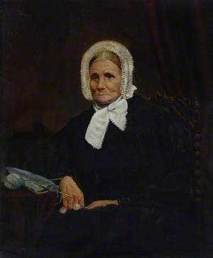 Portrait of an Elderly Woman in Nineteenth-Century Dress