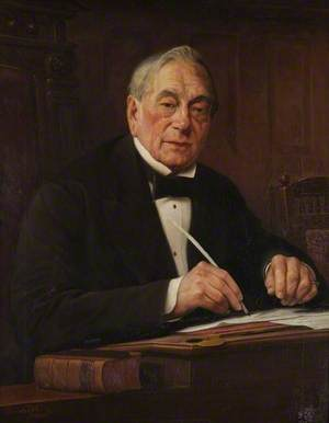 Alderman Joseph Wood (d.1887), Mayor of Worcester (1860)