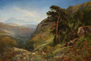 On the Hills above Betws-y-Coed