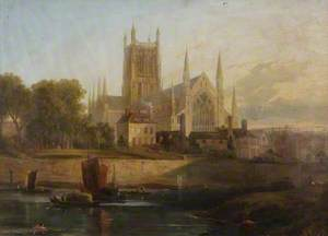 Worcester Cathedral, River Severn