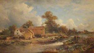 Forge Mill, River Tame