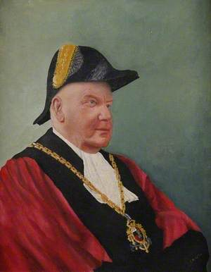 Alderman W. H. Norton, Mayor of Worcester (1951–1952)