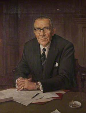 Major William John Charles Kendall (1894–1988), MBE, MC, JP, FCA, Founding Trustee of the Perrins Museum Trust