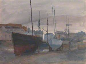 Low Tide, Inner Harbour, Castletown
