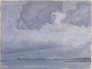 Purple Sky and Sea
